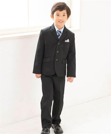 【卒園式。入学式】フォーマルスーツ3点セット(ジャケット+シ...