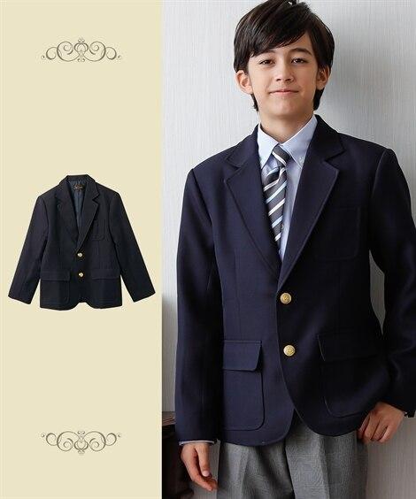 【もっとゆったりサイズ】【卒業式】ブレザー(男の子 子供服 ...