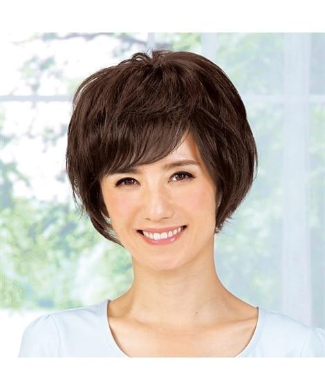 選べる人毛ヘアピース(ショートからミディアムヘア)