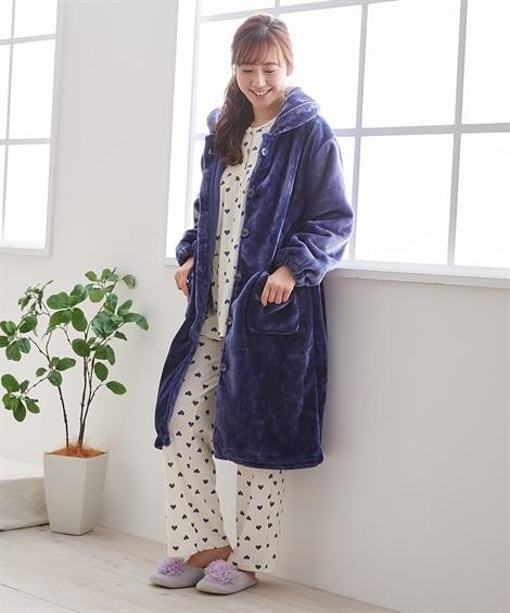 【WEB限定】毛布屋さんが作った あったかルームワンピース ...
