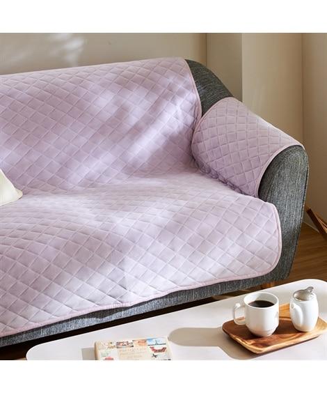 洗える!取付け簡単!マシュマロみたいなもっちもちの肌ざわりのソファーカバー ソファーカバー, Sofa covers(ニッセン、nissen)