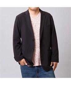 <ニッセン>【紳士服】 カットソーテーラードジャケット メンズジャケット・ブルゾン画像