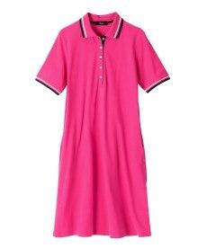 <ニッセン> 綿100%ポロシャツ(消臭テープ付) (大きいサイズレディース)plus size 6