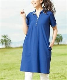 <ニッセン> 綿100%ポロシャツ(消臭テープ付) (大きいサイズレディース)plus size 8