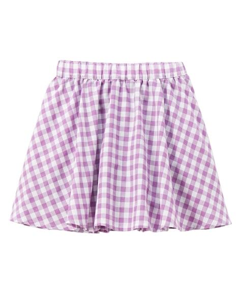 ギャザーパンツインスカート(女の子 子供服。ジュニア服) キ...