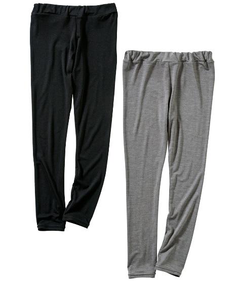 ウォームコア吸湿発熱。静電気防止レギンス2枚組(男の子。女の子 子供服。ジュニア服) レギンス・スパッツ, Kids' Leggings