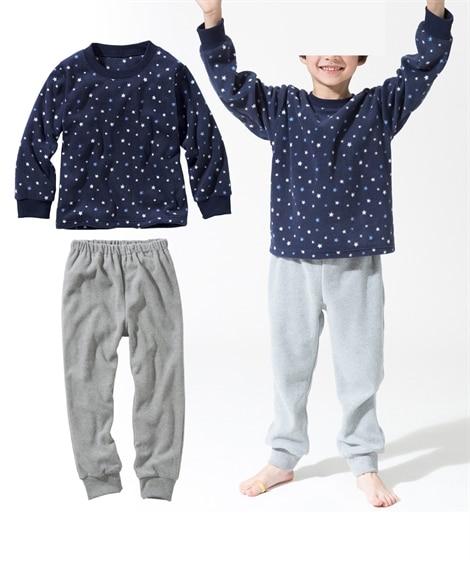 男の子フリースパジャマ(男の子 子供服。ジュニア服) キッズ...