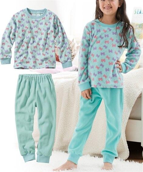 女の子フリースパジャマ(女の子 子供服。ジュニア服) キッズ...