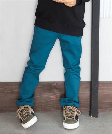 【もっとゆったりサイズ】ストレッチツイルストレートパンツ(男...