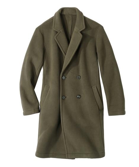 フリースボンディングチェスターコート コート, Coat, ...