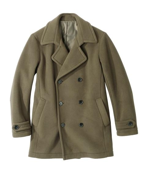 フリースボンディングピーコート コート, Coat, 大衣