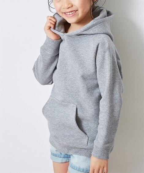 綿100%スウェットパーカー(男の子。女の子 子供服。ジュニ...