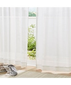 【送料無料!】花粉対策。遮熱。昼間見えにくいレースカーテンの商品画像