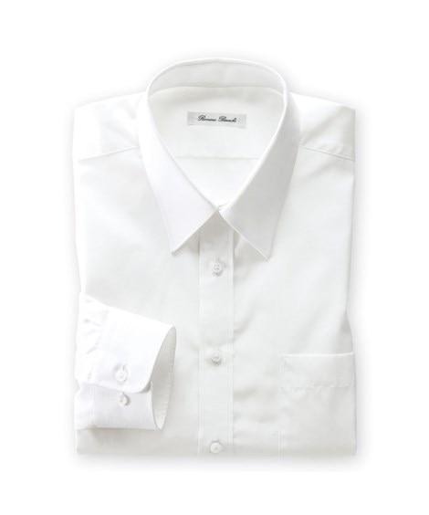 抗菌防臭。形態安定長袖ワイシャツ(レギュラーカラー)(標準シ...