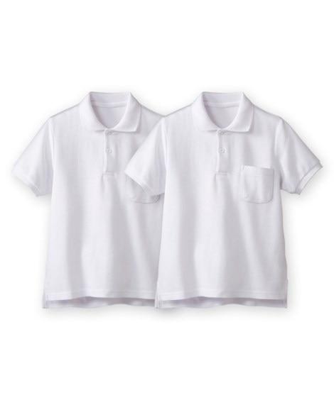 【子供服】 半袖ポロシャツ2枚組(ポケットあり) 【キッズ】...