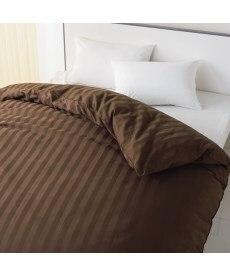 綿混サテン掛カバー(ストライプ) 掛け布団カバーの小イメージ