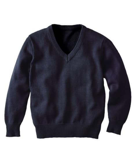 綿100%Vネックセーター キッズフォーマル, Kid's Suits