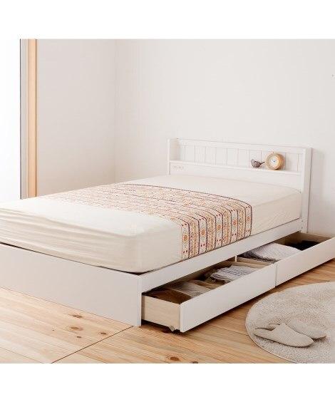 多サイズ展開ベッド 収納付きベッド