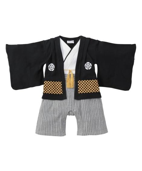 男児袴風カバーオール 【ベビー服】Babywear
