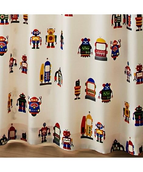 【送料無料!】ロボくん。蓄光。アレルGカーテン(ふしぎのくに) ドレープカーテン(遮光あり・なし) Curtains, blackout curtains, thermal curtains, Drape(ニッセン、nissen)