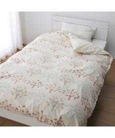 【日本製】綿100%掛け布団カバー(リーフ柄) 掛け布団カバーの商品画像