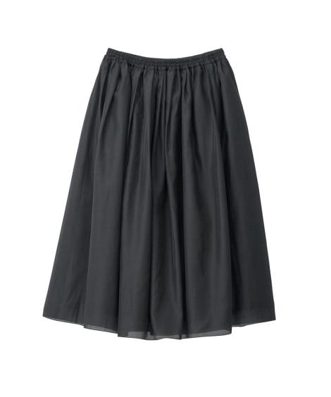 ギャザースカート(選べるスカート丈) 【大きいサイズレディー...