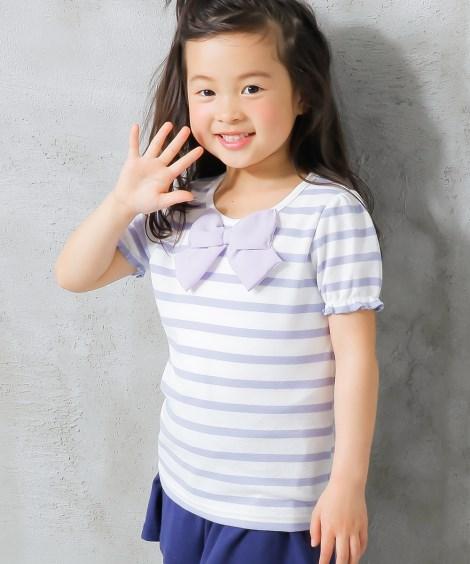 選べる4タイプ♪半袖トップス(女の子 子供服。ジュニア服) ...