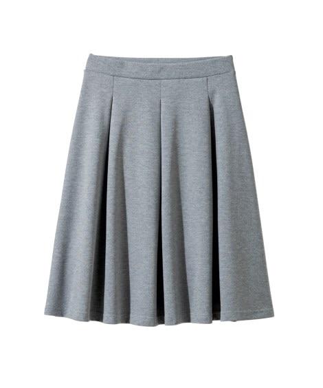 カットソータックフレアスカート(選べるスカート丈) (大きい...