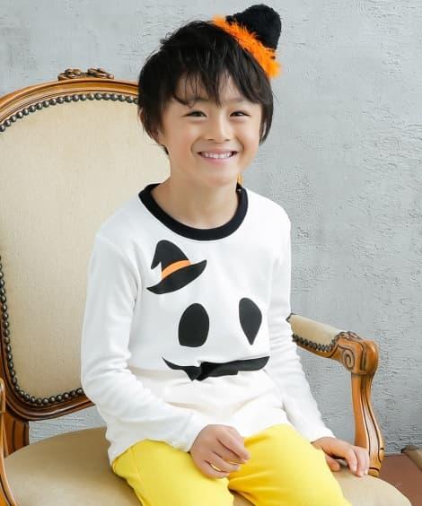 ハロウィンTシャツ(男の子。女の子 子供服)ジャックランタン...