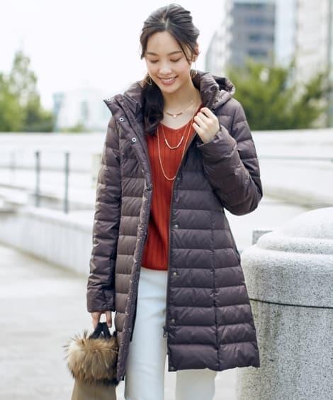 トールサイズ ダウンロング丈コート...
