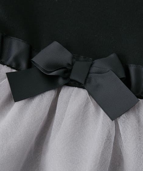 3e140dd758e35 袖部分  レース衿お出かけワンピース(女の子 子供服・ジュニア服)(フォーマルワンピース・