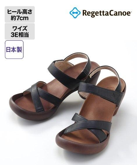 リゲッタカヌー バナナヒールサンダル(CJBN5710) サ...