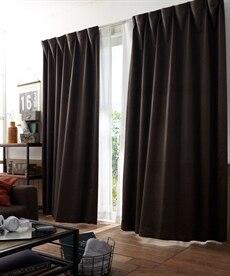 【送料無料!】レザー調。遮光カーテン ドレープカーテン(遮光あり・なし)の商品画像