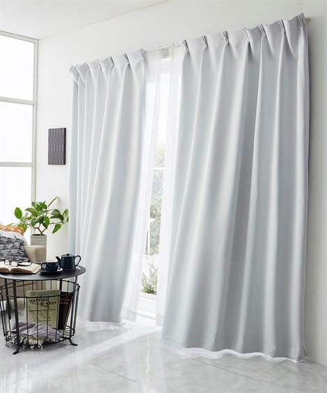 【送料無料!】真っ白な遮熱。遮光カーテン ドレープカーテン(...