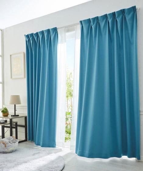全サイズ均一価格。しずく調遮光カーテン ドレープカーテン(遮...