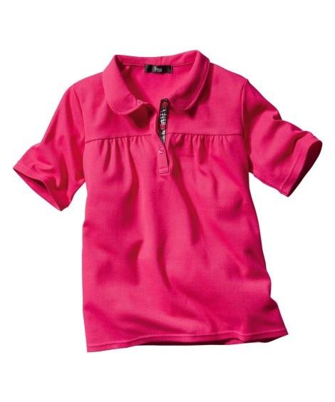 半袖ポロシャツ(UVカット) 【大きいサイズレディース】ポロ...