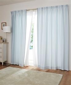 【送料無料!】ストライプレース刺しゅうカーテン ブラックフォーマルの商品画像