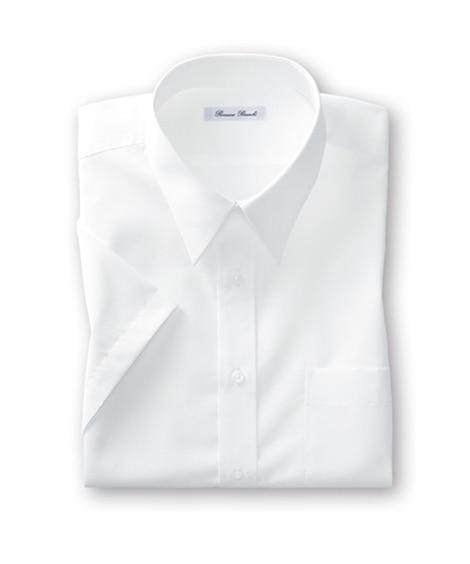 新パターン使用形態安定半袖ワイシャツ(レギュラーカラ―) 大...