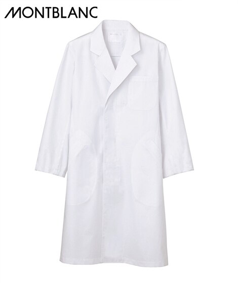 MONTBLANC ドクターコート(長袖)(男性用) ナースウェア・白衣・介護ウェア