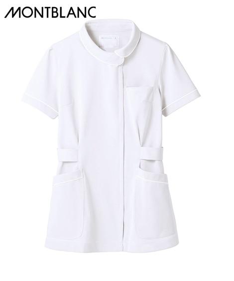 MONTBLANC ナースジャケット(半袖)(女性用) ナースウェア・白衣・介護ウェア