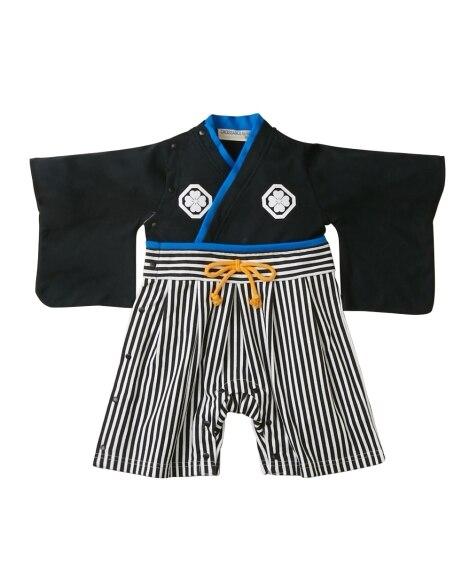 セレモニー 袴風カバーオール(男の子 子供服。ベビー服) 【...