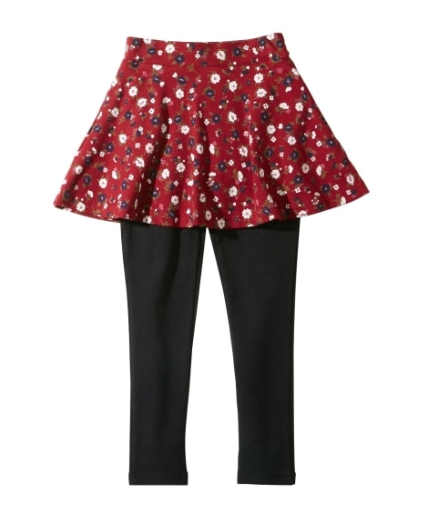 ポケット付フレアスカッツ(女の子 子供服。ジュニア服) (ス...