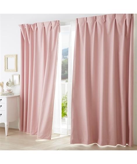 ドビー織遮熱・防音・1級遮光カーテン ドレープカーテン(遮光あり・なし) Curtains, blackout curtains, thermal curtains, Drape(ニッセン、nissen)