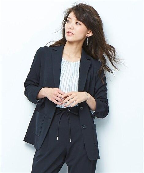【ビジカジ】カットソージャージー上下別売りカセット服【レディ...