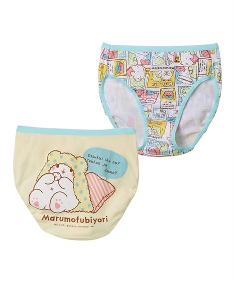 【まるもふびより】【シナモロール】綿100%ショーツ2枚組 キッズ下着, Kid's Underwear
