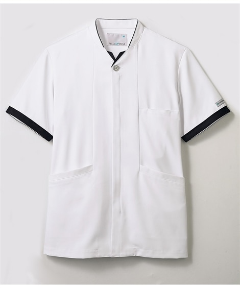 PROFESSIONAL PRIDES 半袖ジャケット(メンズ) ナースウェア・白衣・介護ウェア