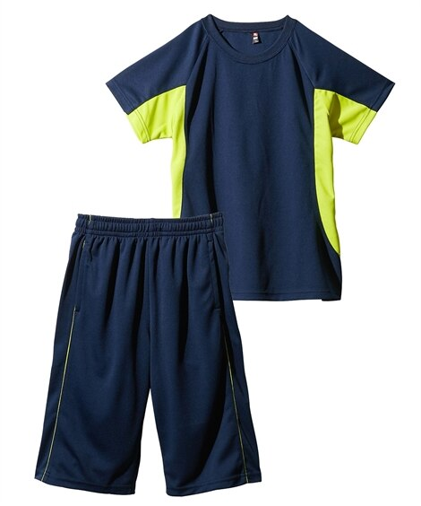 Tスーツ(半袖Tシャツ+ハーフパンツ)(男の子 女の子 子供服 ジュニア服) キッズパジャマ, Kids' Pajamas