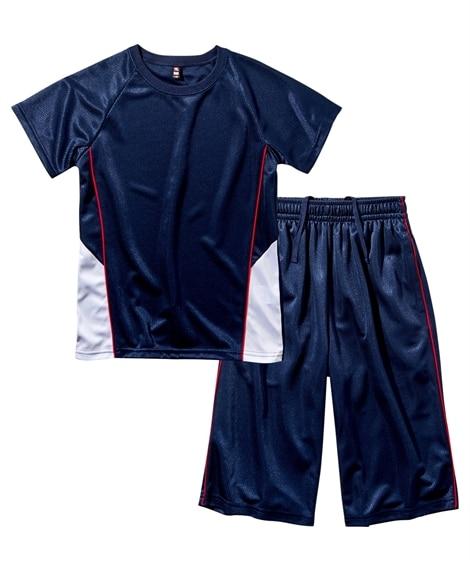 【もっとゆったりサイズ】Tスーツ(半袖Tシャツ+ハーフパンツ)(男の子 女の子 子供服 ジュニア服) キッズパジャマ, Kids' Pajamas