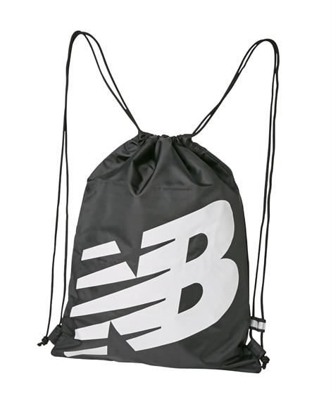 【new balance】ロゴナップサック JABL8231 男の子 ビニールバッグ・ビーチバッグ, Bags