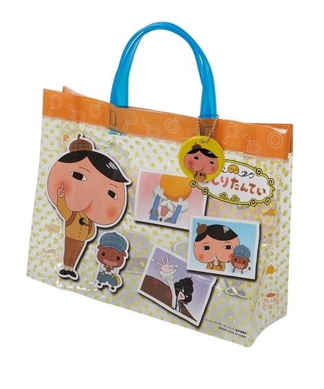 【すみっコぐらし。ハローキティ。おしりたんてい。ミニオン】マチありお名前ネームホルダー付プールバッグ(女の子。男の子) ビニールバッグ・ビーチバッグ, Bags
